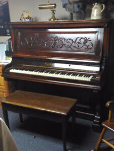 Ennis & Co. Cabinet Grand upright piano