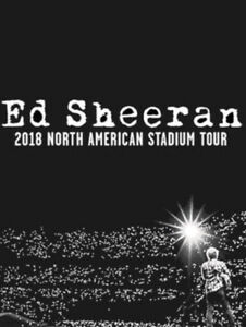 ED SHEERAN STADIUM TOUR PREMIUM SEAT - SECTION A8
