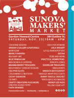 Sunova Maker's Market on Holiday Alley
