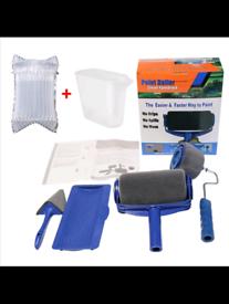Multifunctional 5pcs Paint Runner Pro Roller Brush Tools Set Paint Rol