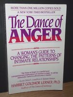 The Dance Of Anger - Harriet Lerner PH.D. - 1989 1st Edition