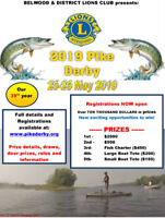 Belwood Lions Pike Derby $2000 First Prize