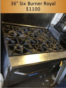 Pizza Oven, Stoves, Dishwashers, Commercial Mixers, Freezers