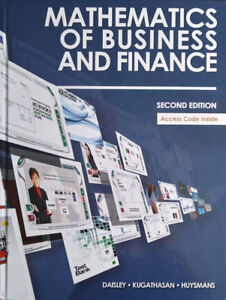 Mathematics of Business and Finance: Second Edition