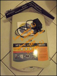 GRATUIT: NUMÉRISEUR HP SCANJET 4300C FONCTIONNEL.