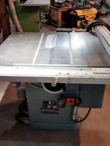 """King Industrial 10"""" Table Saw"""