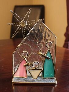 3D Stained Glass Nativity