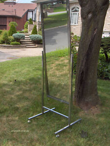 Standing Single Panel Floor Mirror with Casters West Island Greater Montréal image 6