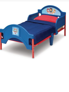 Paw patrol toddlers bed with mattress