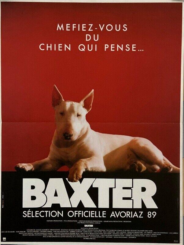 Bull terrier baxter jerome boivin 1989 40x60