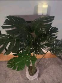 Brand New Artificial 120cm Monstera Plant