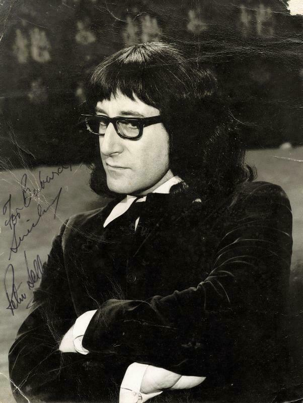 PETER SELLERS - AUTOGRAPHED INSCRIBED PHOTOGRAPH
