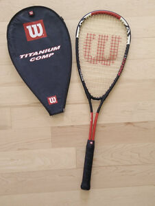 Wilson squash racquet, barely used
