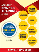 Avail Best Fitness Training at Home