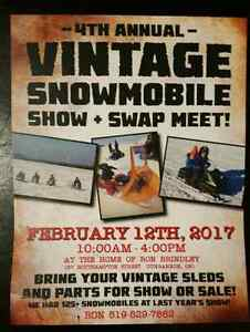 Dungannon SnowMobile Show & Swap Feb 12/17