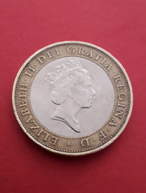 MIX AND MATCH - 1997 Necklace Queen £2 two pounds coin