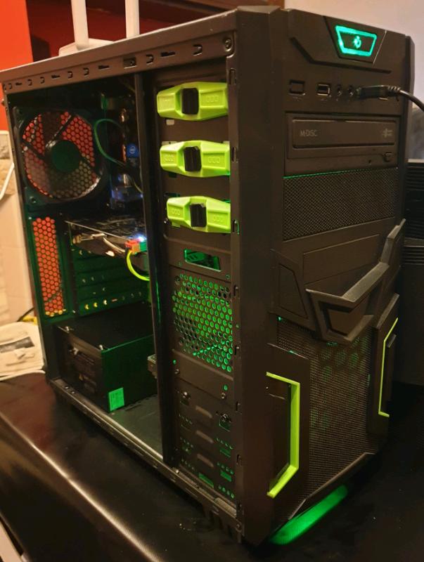 Intel i5 quad core 4670 cpu @3 40ghz gaming pc/desktop media machine   in  Bradford, West Yorkshire   Gumtree