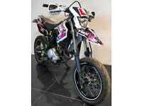 2016 16 YAMAHA WR 125 X SUPERMOTO LEANER LEGAL WHITE PROJECT TRADE SALE CATN 14K