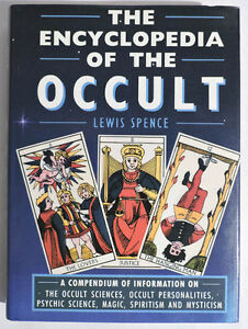 ▀▄▀Encyclopedia of the Occult by Lewis Spence-HC/DJ-1988