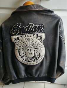Highly Coveted Indian Motorcycle Jacket - perfect wear