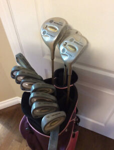 Ladies Complete Set Golf Clubs - Excellent Condition