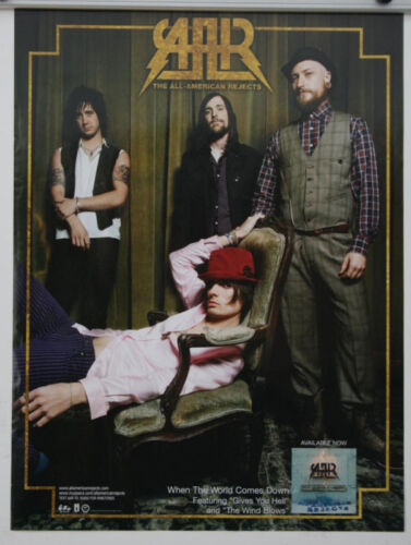 THE ALL AMERICAN REJECTS When The World Comes Down 24 x 18 POSTER