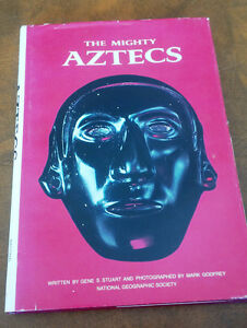 The Mighty Aztecs, National Geographic Society, 1981 Kitchener / Waterloo Kitchener Area image 1