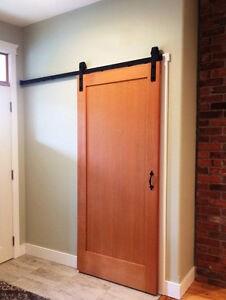 Practical & easy to install soft close barn door hardware