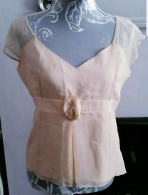 Ladies JFW 100% pure Silk Blouse,size 12