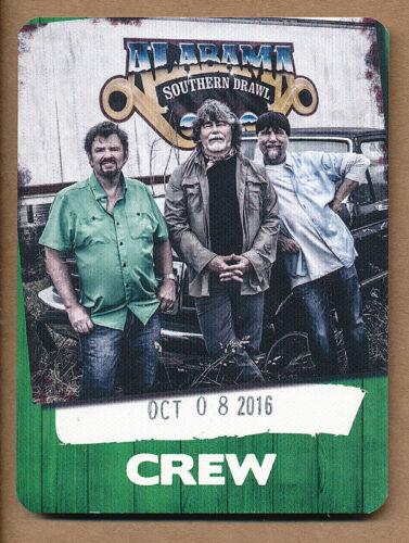 Alabama Crew RARE sticky pass 2016
