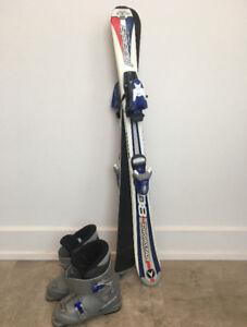 ski Alpin Dynastar 100cm ( enfant) avec bottes et fixation