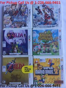NINTENDO 3DS NEW SEALED & USED GAMES – ZELDA / ANIMAL CROSSING