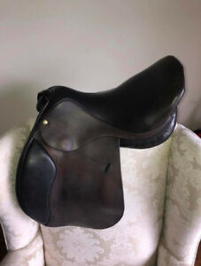 Paramount All-Purpose Saddle 17.5' Dark Brown, Medium