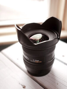 Sigma 10-20mm f/4-5.6 for Canon