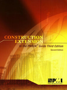 Construction Extension to the Pmbok Guide Third Edition Kitchener / Waterloo Kitchener Area image 1