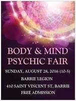 Body & Mind Psychic Fair
