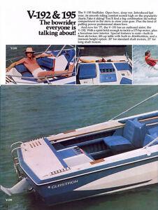 CLASSIC Glastron Bowrider and trailer