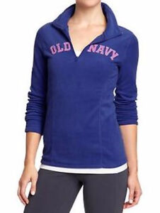 Women's Old Navy blue performance fleece pullover sweater Small London Ontario image 1