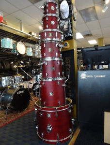 Sonor 2003/2005  series, 7 pce Birch set with full hardware !