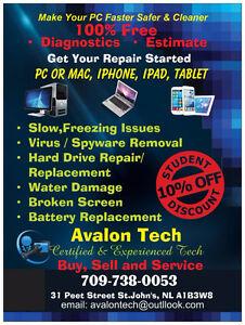 Repair iPhone, iPad, Tablet, Laptop Desktop Smartphones & more St. John's Newfoundland image 3