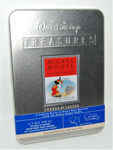 Disney Treasures Mickey Mouse Living Color Limited Edition DVDs