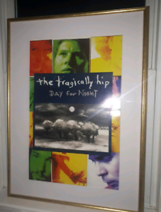 1994 THE TRAGICALLY HIP DAY FOR NIGHT POSTER