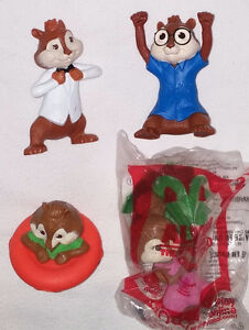 Alvin and the Chipmunks Battle of Bands Book & 4 Toys (Lot #2) London Ontario image 2
