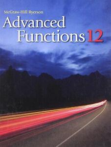 Advanced Functions 12 - High School Math Textbook