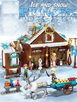 715PCS Frozen Ice & Snow Princess Essar Building Blocks Bricks Figure Fairy Tale