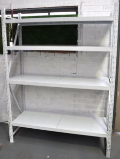 LONG SPAN 400KG STEEL STORAGE SHELVING RACKING -2Mx1.5Mx400MM