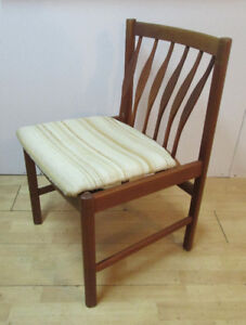 1960's Mid Century Modern Teak Chairs – 4 Available