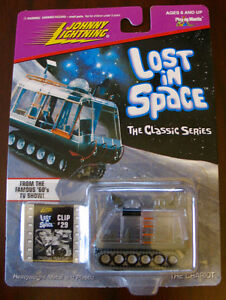 JOHNNY LIGHTNING LOST IN SPACE CHARIOT MOC 1998 CLIP#29