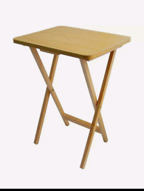 Folding wooden laptop / study table