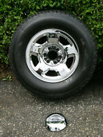 Winterforce 265 70 17 w/ Mint Chrome Ford Truck Rims SEE VIDEO